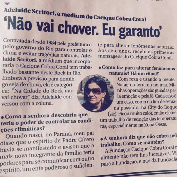 FCCC_OGlobo_Nåø vai chover_eu garanto_RockinRio2015